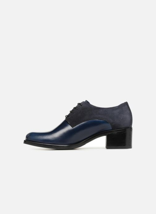 Chaussures à lacets Georgia Rose Nicia Bleu vue face