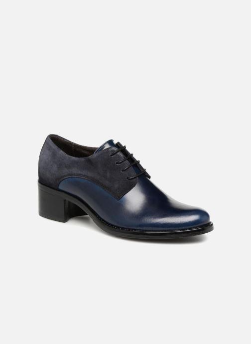 Chaussures à lacets Georgia Rose Nicia Bleu vue détail/paire