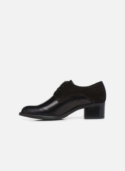 Chaussures à lacets Georgia Rose Nicia Noir vue face