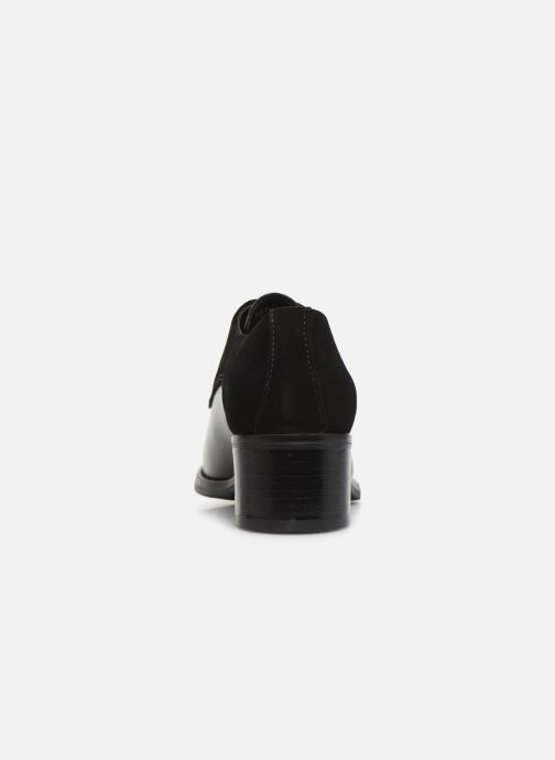 Chaussures à lacets Georgia Rose Nicia Noir vue droite