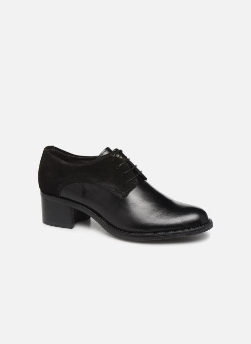 Chaussures à lacets Georgia Rose Nicia Noir vue détail/paire
