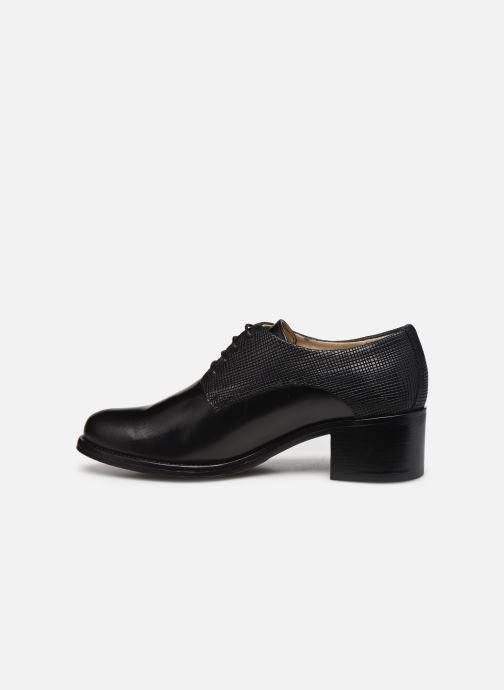 Zapatos con cordones Georgia Rose Nicia Negro vista de frente