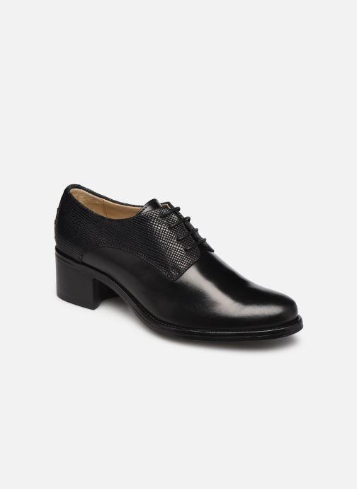 Zapatos con cordones Georgia Rose Nicia Negro vista de detalle / par