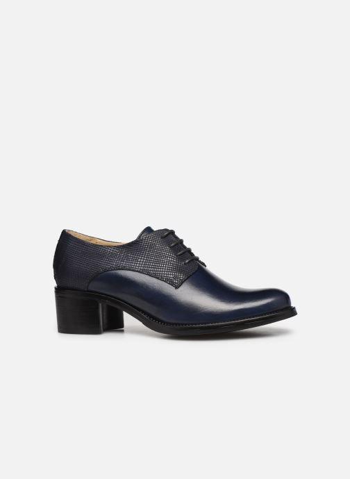 Zapatos con cordones Georgia Rose Nicia Azul vistra trasera