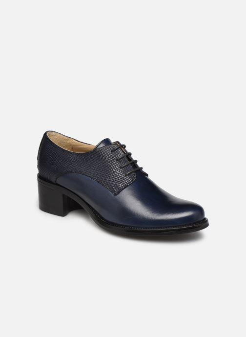 Zapatos con cordones Georgia Rose Nicia Azul vista de detalle / par