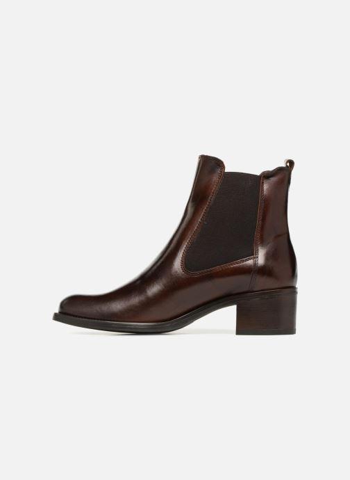 Bottines et boots Georgia Rose Nounours Marron vue face