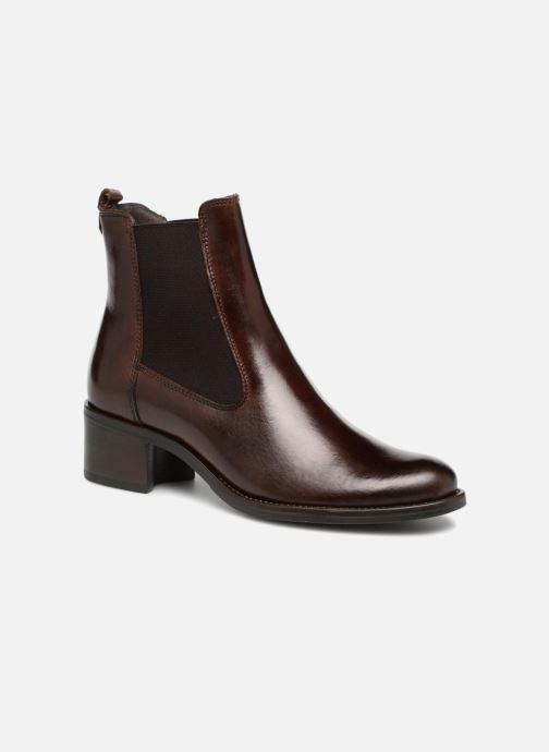 Bottines et boots Georgia Rose Nounours Marron vue détail/paire