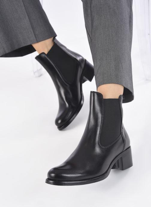 Stiefeletten & Boots Georgia Rose Nounours schwarz ansicht von unten / tasche getragen