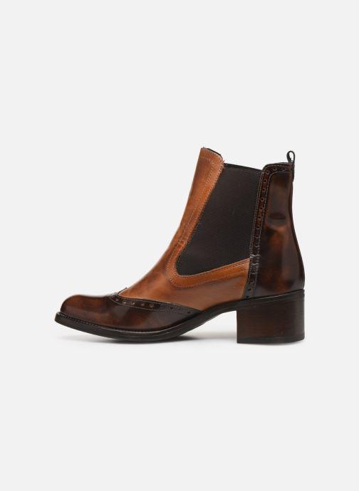Bottines et boots Georgia Rose Nouccia Marron vue face