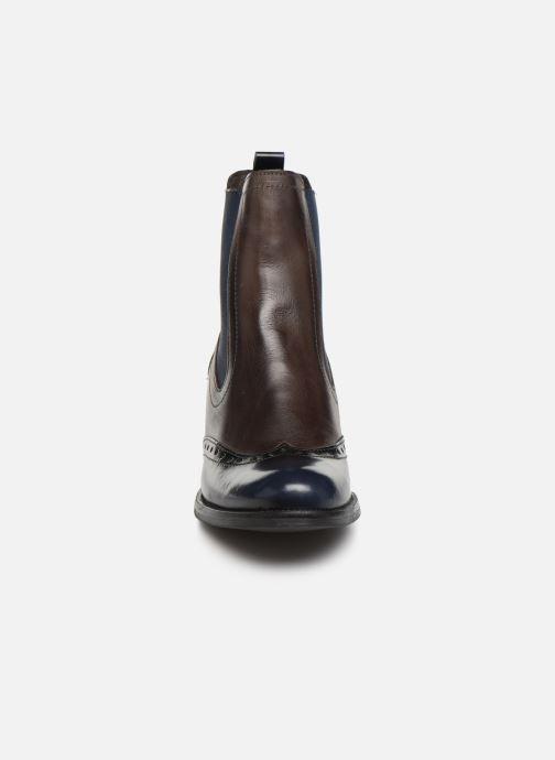 Bottines et boots Georgia Rose Nouccia Bleu vue portées chaussures