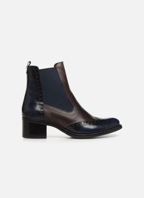 Bottines et boots Georgia Rose Nouccia Bleu vue derrière