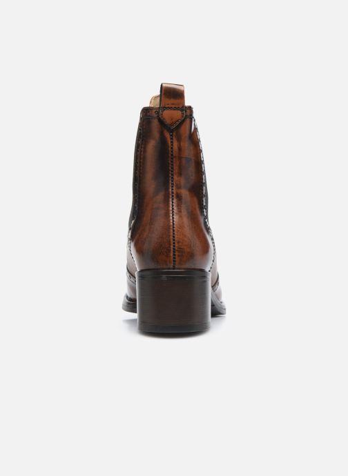Bottines et boots Georgia Rose Nouccia Marron vue droite