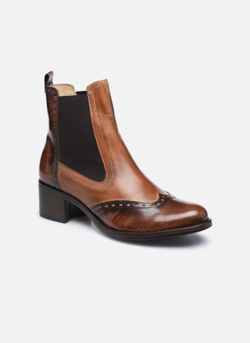 Bottines et boots Georgia Rose Nouccia Marron vue détail/paire