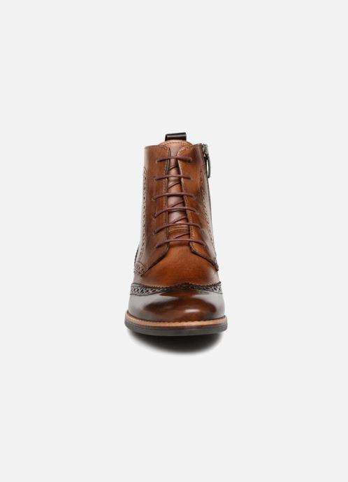 Bottines et boots Georgia Rose Nicolata Marron vue portées chaussures