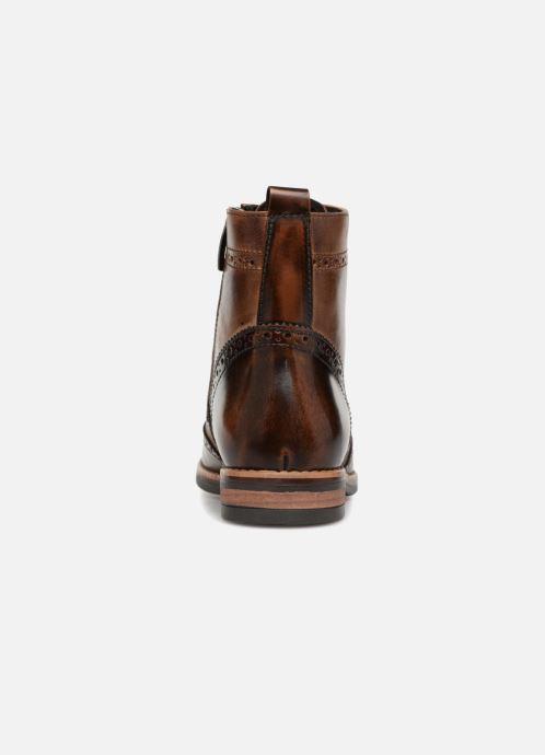 Bottines et boots Georgia Rose Nicolata Marron vue droite