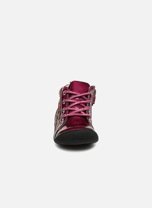 Bottines et boots NA! Also Violet vue portées chaussures