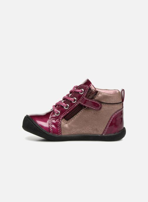 Bottines et boots NA! Also Violet vue face