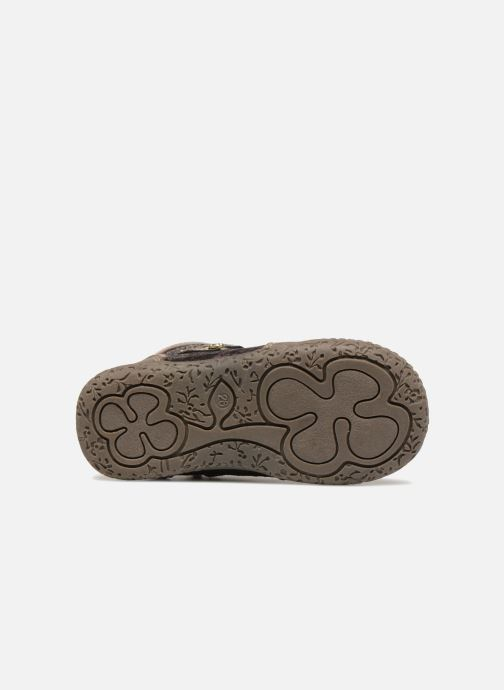 Bottines et boots NA! Acapulse Or et bronze vue haut