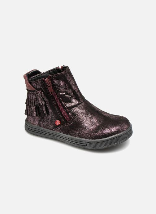 Boots en enkellaarsjes NA! Ana Paars detail