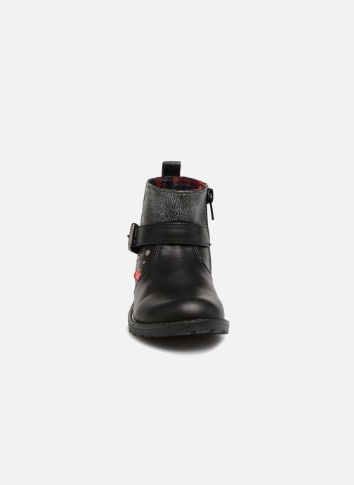 Boots en enkellaarsjes NA! Adelinde Zwart model