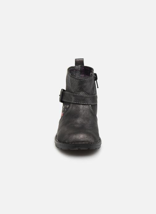 Bottines et boots NA! Adelinde Argent vue portées chaussures