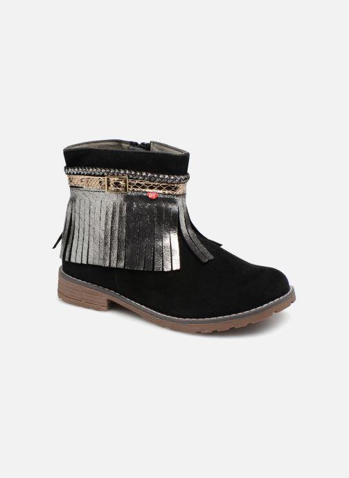 Boots en enkellaarsjes NA! Almara Zwart detail