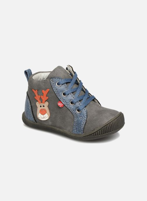 Boots en enkellaarsjes NA! Anouk Grijs detail