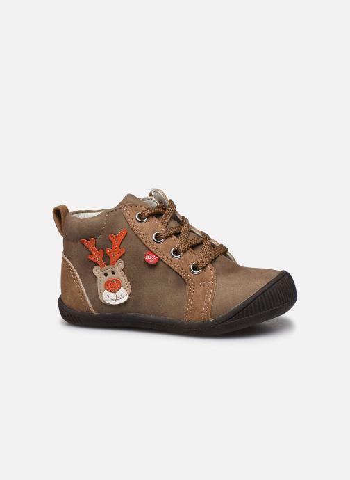 Bottines et boots NA! Anouk Beige vue derrière