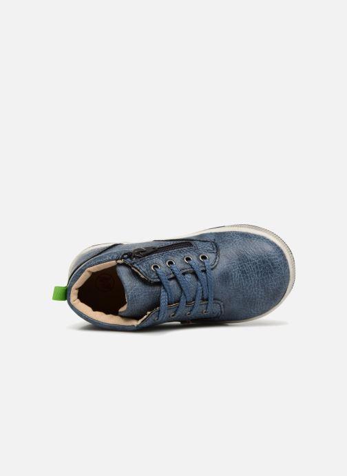 Bottines et boots NA! Amont Bleu vue gauche