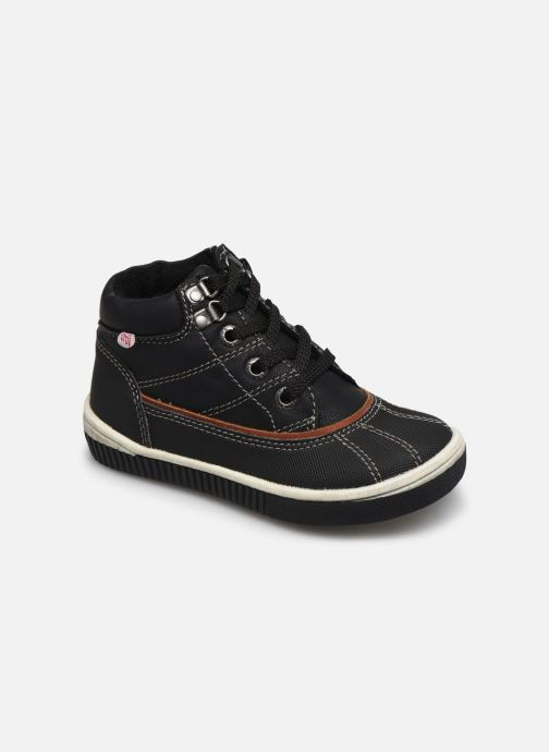Boots en enkellaarsjes NA! Ambo Zwart detail