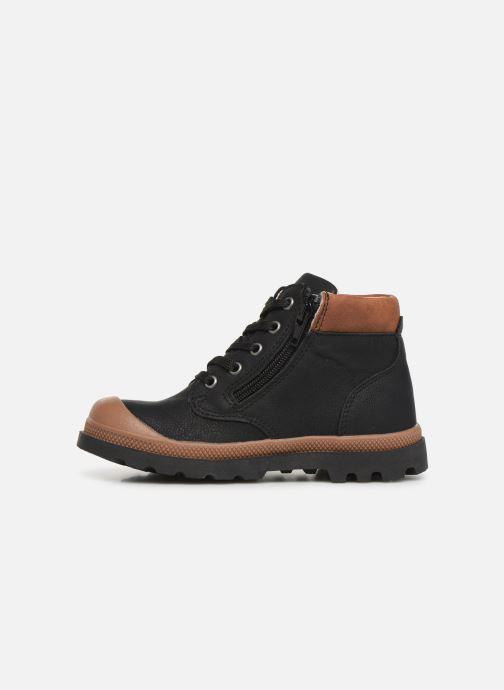 Boots en enkellaarsjes NA! Apoline Zwart voorkant