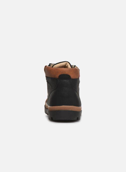 Bottines et boots NA! Apoline Noir vue droite