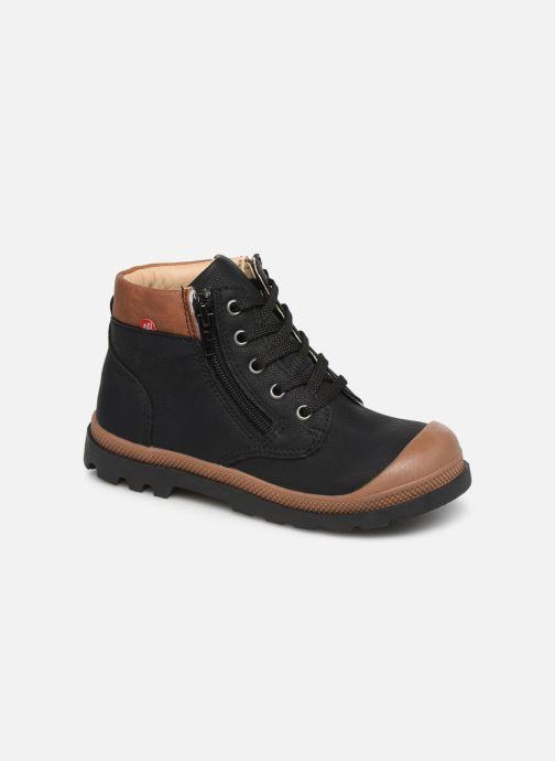 Boots en enkellaarsjes NA! Apoline Zwart detail