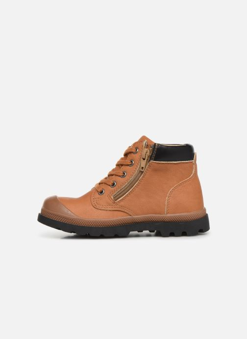 Ankle boots NA! Apoline Brown front view