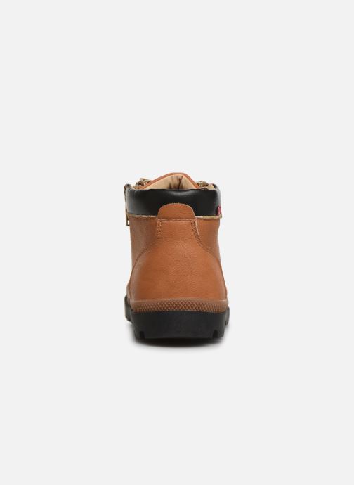 Ankle boots NA! Apoline Brown view from the right