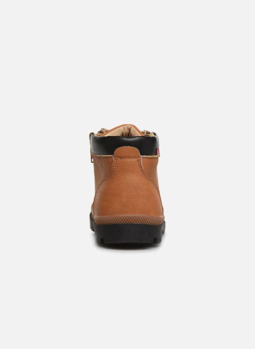 Bottines et boots NA! Apoline Marron vue droite