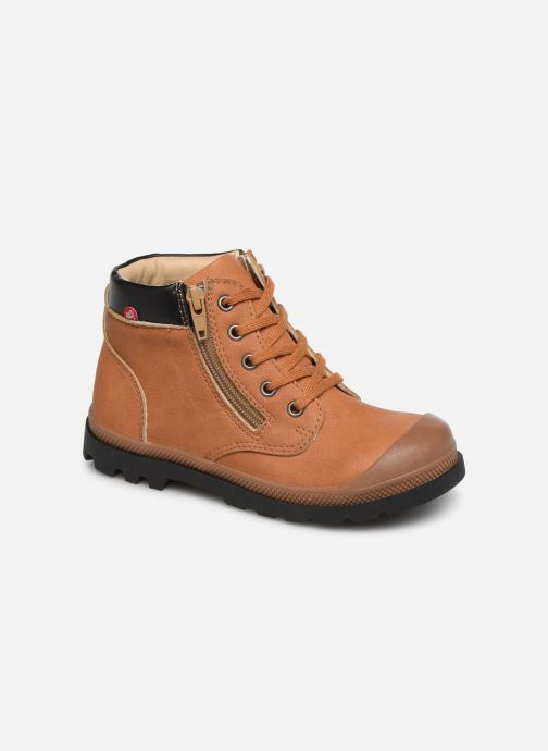 Boots en enkellaarsjes NA! Apoline Bruin detail