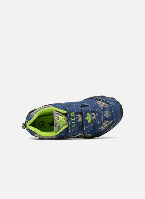 Sneaker LICO Monstertruck V Blinky blau ansicht von links