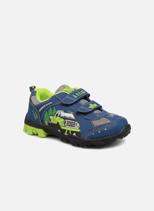 Trainers LICO Monstertruck V Blinky Blue detailed view/ Pair view