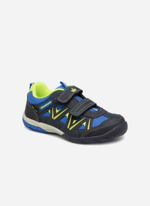 Sport shoes LICO Kolibri V H Blue detailed view/ Pair view