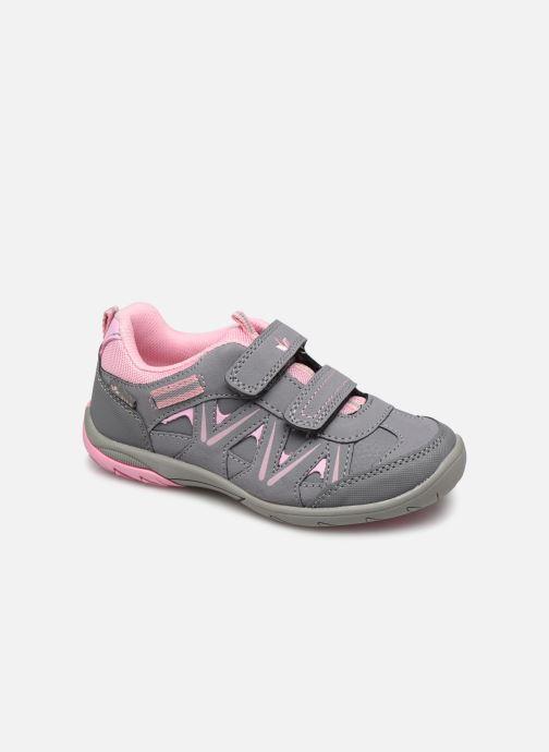 Sport shoes LICO Kolibri V H Grey detailed view/ Pair view