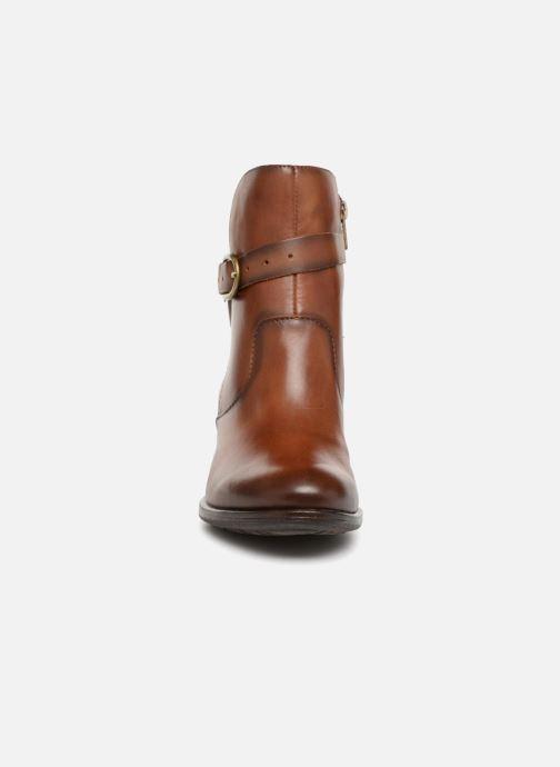 Bottines et boots Pikolinos Baqueira W9M-8563 Marron vue portées chaussures