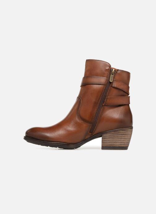Bottines et boots Pikolinos Baqueira W9M-8563 Marron vue face
