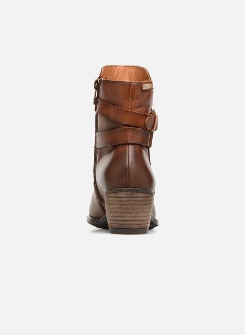 Bottines et boots Pikolinos Baqueira W9M-8563 Marron vue droite