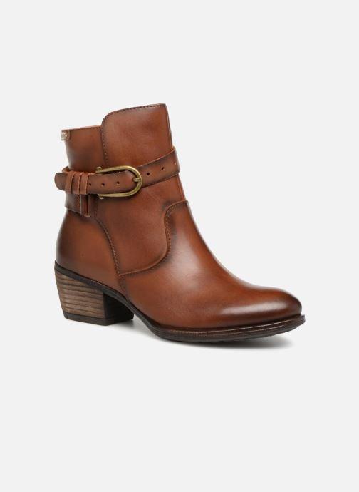 Bottines et boots Pikolinos Baqueira W9M-8563 Marron vue détail/paire