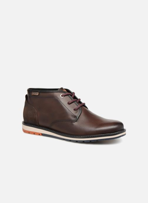 Ankle boots Pikolinos Berna M8J-8153 Brown detailed view/ Pair view