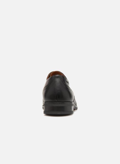 Zapatos con cordones Pikolinos BRISTOL M7J-4184 Negro vista lateral derecha
