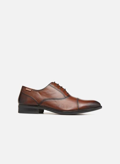 Chaussures à lacets Pikolinos BRISTOL M7J-4184 Marron vue derrière