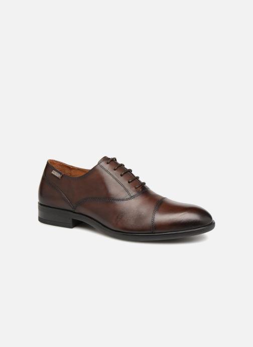 Chaussures à lacets Pikolinos BRISTOL M7J-4184 Marron vue détail/paire