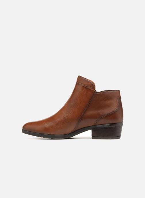 Bottines et boots Pikolinos Daroca W1U-8590 Marron vue face